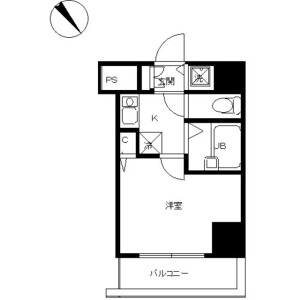 1K Mansion in Takinogawa - Kita-ku Floorplan