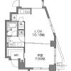 在目黒区内租赁1LDK 公寓大厦 的 内部