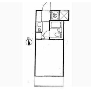 1R Apartment in Sammaicho - Yokohama-shi Kanagawa-ku Floorplan