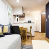 1LDK Apartment to Rent in Nakano-ku Living Room