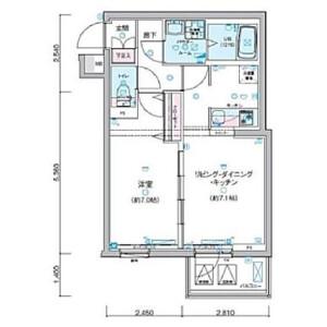 1LDK Mansion in Shimotakaido - Suginami-ku Floorplan