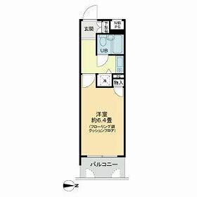 1K Mansion in Nerima - Nerima-ku Floorplan