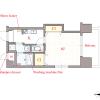 1K Apartment to Rent in Osaka-shi Miyakojima-ku Floorplan