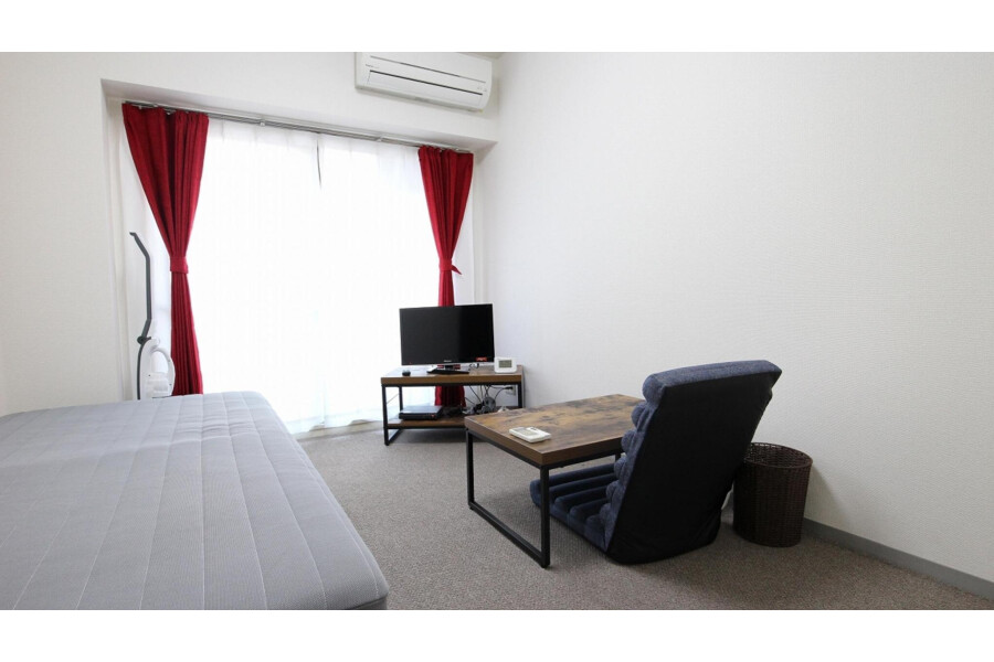 1K Apartment to Rent in Yamato-shi Living Room