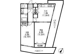 2DK Mansion in Shimoma - Setagaya-ku