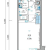 1K Apartment to Rent in Minato-ku Floorplan