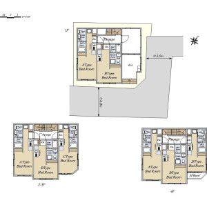 Whole Building {building type} in Monzennakacho - Koto-ku Floorplan