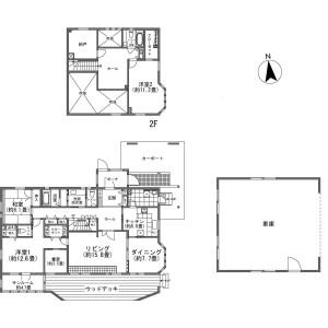 3LDK {building type} in Takakuhei(hozumi.yamanashi) - Nasu-gun Nasu-machi Floorplan