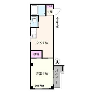 1DK Mansion in Nakano - Nakano-ku Floorplan