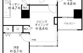 新宿区 河田町 2LDK マンション