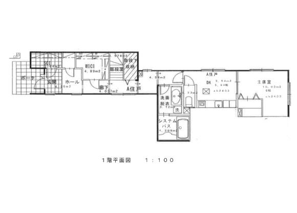 3SLDK House to Rent in Ota-ku Floorplan