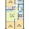 3DK マンション 川崎市中原区 間取り