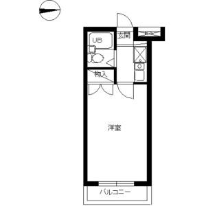 1K Mansion in Suge - Kawasaki-shi Tama-ku Floorplan