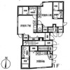 1R Apartment to Rent in Arakawa-ku Floorplan