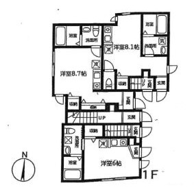 1R Apartment in Higashinippori - Arakawa-ku Floorplan