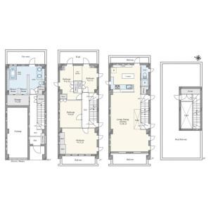 4LDK {building type} in Ookayama - Meguro-ku Floorplan