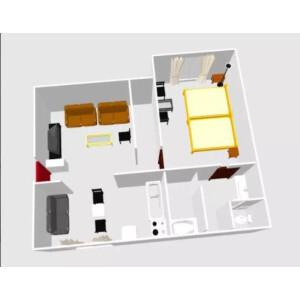 1LDK Apartment in Nishiwaseda(sonota) - Shinjuku-ku Floorplan