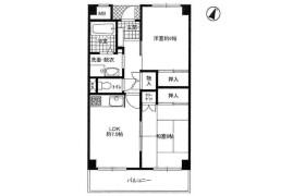 2DK Apartment in Nadaminamidori - Kobe-shi Nada-ku