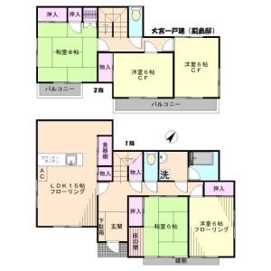 5LDK House in Mihashi - Saitama-shi Omiya-ku Floorplan