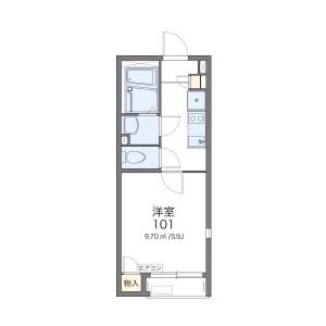 1K Apartment in Kichijoji honcho - Musashino-shi Floorplan