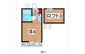 1R Apartment in Tsukagoshi - Warabi-shi