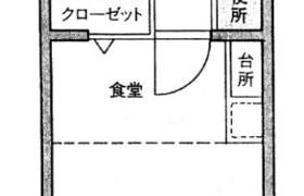福岡市中央区 福浜 1DK {building type}