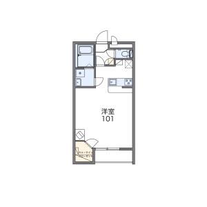 1K Mansion in Imajuku - Fukuoka-shi Nishi-ku Floorplan