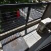 1R Apartment to Rent in Osaka-shi Kita-ku Balcony / Veranda
