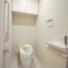 1K マンション 港区 トイレ