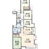 在板橋區購買4LDK 公寓大廈的房產 Layout Drawing