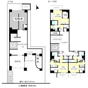 Whole Building {building type} in Imaike - Nagoya-shi Chikusa-ku Floorplan