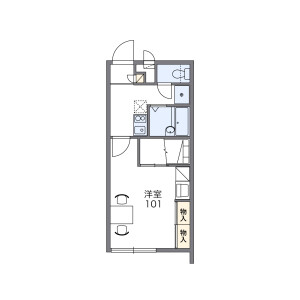 1K Mansion in Kanegusuku - Shimajiri-gun Haebaru-cho Floorplan
