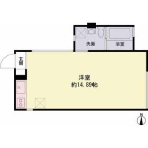 1R Apartment in Shinsencho - Shibuya-ku Floorplan