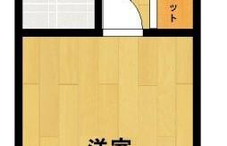 福岡市中央区 赤坂 1K {building type}