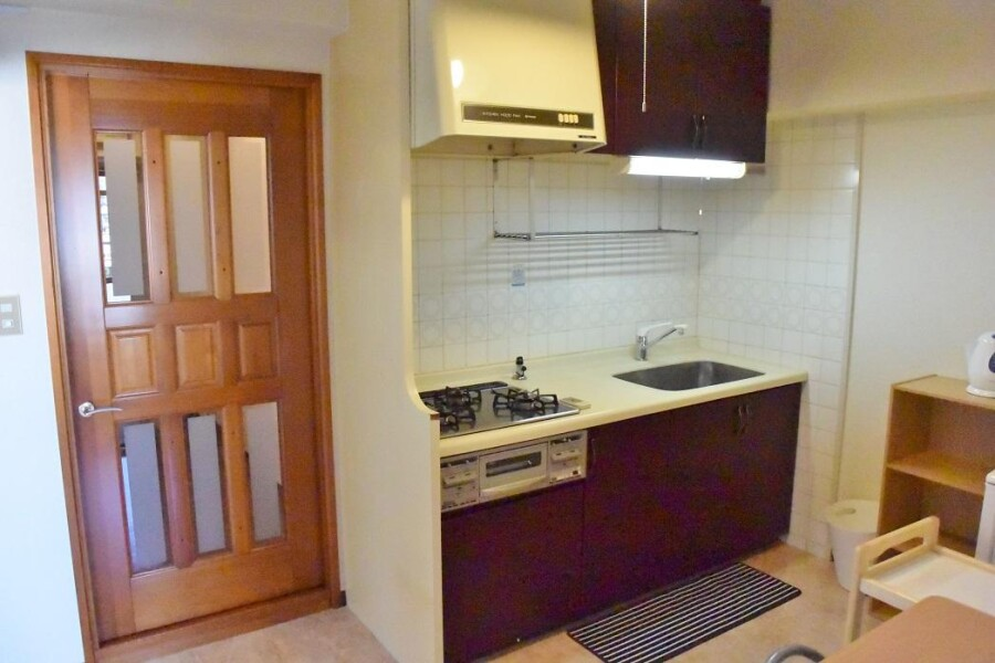 3DK Apartment to Rent in Osaka-shi Tennoji-ku Kitchen