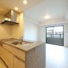 在大阪市中央區購買1LDK 公寓大廈的房產 起居室