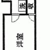 1R Apartment to Buy in Yokohama-shi Nishi-ku Floorplan