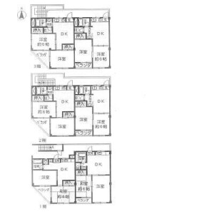 Whole Building {building type} in Minamikasai - Edogawa-ku Floorplan