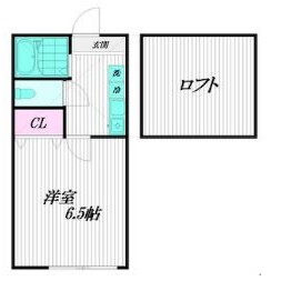 1K Apartment in Tabata - Kita-ku Floorplan