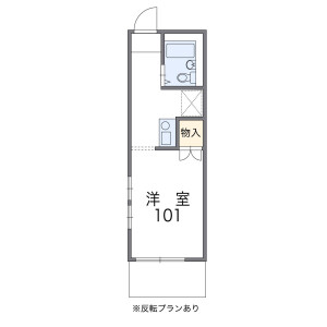 1K Apartment in Nobitome - Niiza-shi Floorplan