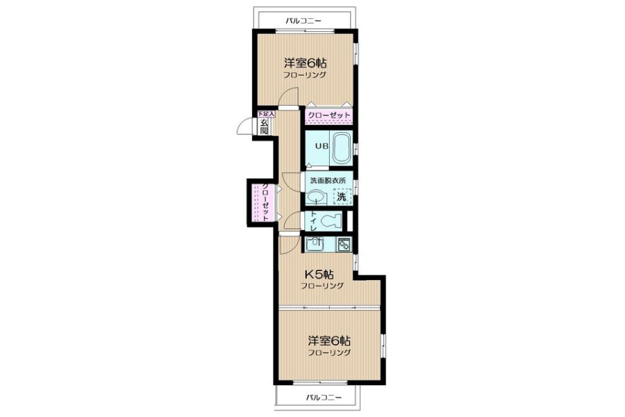 2K Apartment to Rent in Arakawa-ku Exterior