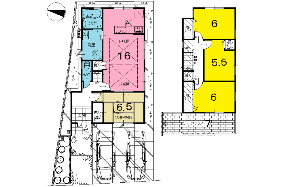3SLDK House to Buy in Kyoto-shi Nishikyo-ku Floorplan