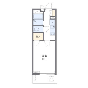 1K Apartment in Takamatsu - Nerima-ku Floorplan
