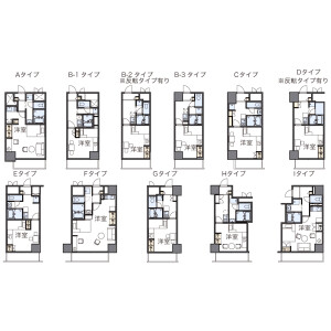 1K Mansion in Shinsakae - Nagoya-shi Naka-ku Floorplan