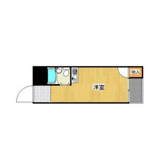 1R Mansion in Kishinosato - Osaka-shi Nishinari-ku Floorplan