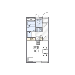 1K Mansion in Nishisunacho - Tachikawa-shi Floorplan