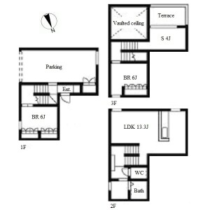 2LDK House in Yamazoecho - Nagoya-shi Chikusa-ku Floorplan