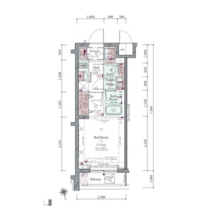1K {building type} in Minamioi - Shinagawa-ku Floorplan