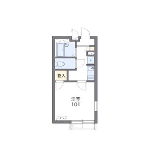 横浜市南区通町-1K公寓大厦 楼层布局