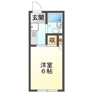 1K Mansion in Hinohigashi - Gifu-shi Floorplan